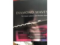 Babyliss diamond waves curling tongs brand new £20
