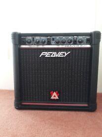 Peavey 158 Transtube series, 15 watt amplifier in good condition