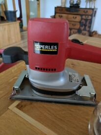 PERLES brand, 9 x 5 Sheet Sander, As New, quality Swiss manufacture