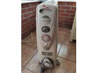 Delonghi oil filled heater in good condition