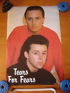 Vintage Musical Group Posters -  The Doors, Tears for Fears