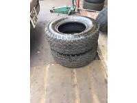 265 70 16 general grabber 4x4 tyres 265/70r16 mud all terrain off road