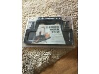 Painting tray attachment for ladder brand new