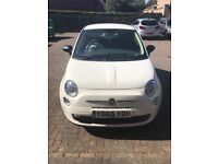 White Fiat 500 65 Plate Car for Sale
