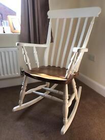 Handmade Pine Rocking Chair