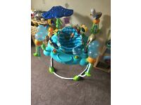 Finding nemo jumparoo used since Christmas like new