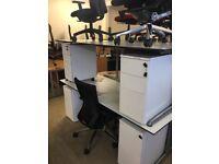 2 metre Ahrend 500 Desk