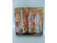 Very Large Collectable Meccano construction set of 3 major landmarks