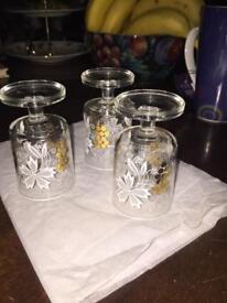 Tlight Holders/Glasses