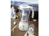 Philips Cucina Blender w Attachment. Looks Brand New