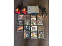 Sony PlayStation ps1 bundle and games