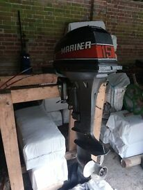 9.9hp Mariner 2 stroke Outboard