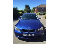 BMW 320D in blue. 2007.