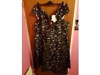Size 26 So Fabulous 3D Lace Bardot Dress