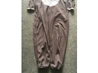 Reindeer Onesie with red heart on the behind. Ladies size 12-14. VGC. Really warm and cosy. Can post