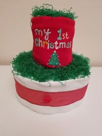 My 1st Christmas Nappy Cake Gifts