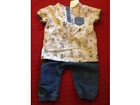 NEXT baby boy outfit 3-6 months