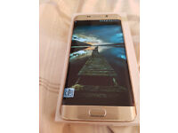 S6 EDGE Plus + Gold Boxed in Mint condition