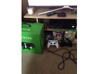 Xbox one like new 500gig boxed