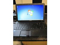 TOSHIBA LAPTOP 2 GIG MEMORY WINDOWS 7 WEBCAM