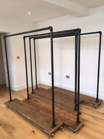 Industrial Style Clothes Rail / Rack - LAST ONE