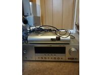 Yamaha surround sound system rx v365