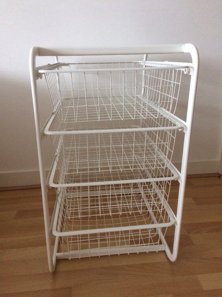 Ikea Wire Drawer Storage Unit