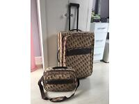 Playboy suitcase and hand luggage case/laptop bag