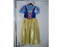 Princess Cinderella and Snow White reversible fancy dress costume for 7-8 years. World Book Day..