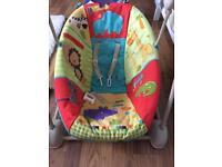 Baby musical swing chair