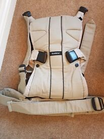 Baby Bjorn One Carrier – Khaki/Beige (almost new)