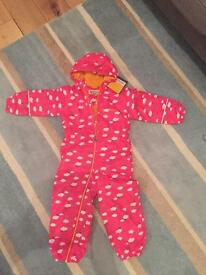 BNWT Regatta splash suit 3-4yrs