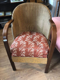 Lloyd Loom Chair , feel free to view . In good condition. £95 Free local delivery