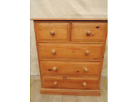 5 Drawer Welsh dovetail joints chest (Delivery)