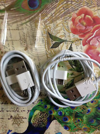 APPLE COMPATIBLE USB DATA SYNC CHARGING CABLE LEAD FOR iPHONE 4 4S 3G iPAD2-30PIN(Min Order 20pcs)