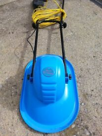 Hover Lawnmower with spare blades