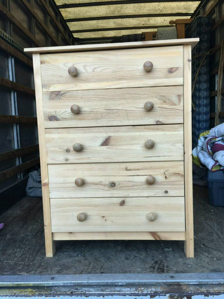 5 drawer chest of drawers £40 delivered