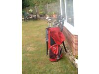 Golf * Callaway Bag * Metal Woods * Irons total 12 clubs