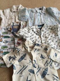 Age 3-4 shirts x 5
