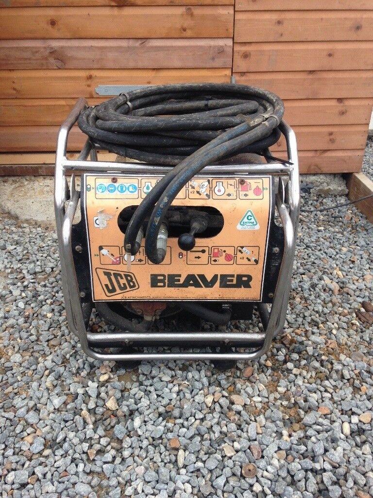 JCB beaver breaker pack