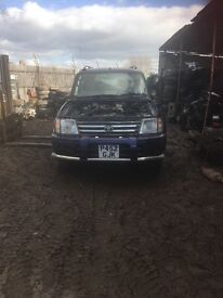 Toyota landcruiser prado 3.4 litre complete exhaust and chassis with doors