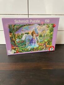 Children's Schmidt Fairy Unicorn Puzzle Sealed