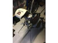 Maxfli Irons Wilson Driver and putter + brand new Hybrid