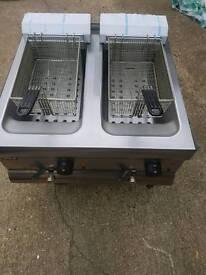 Lincat df66 electric top counter top fryer