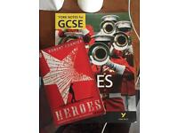 GCSE WJEC English Literature Heroes Book and Revision Textbook