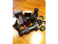multiple camera's and lens's