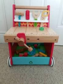 Elc wooden workbench walker