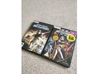Star Wars Battlefront I + II Windows PC CD-ROM