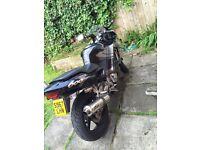 Cbr 600f scary fast bike selling as want an off-road bike