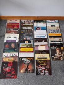 Job lot of vinyl records albums, classical, opera, easy listening, musicals